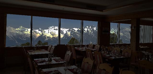 Nendaz - Restaurant M Whittaker