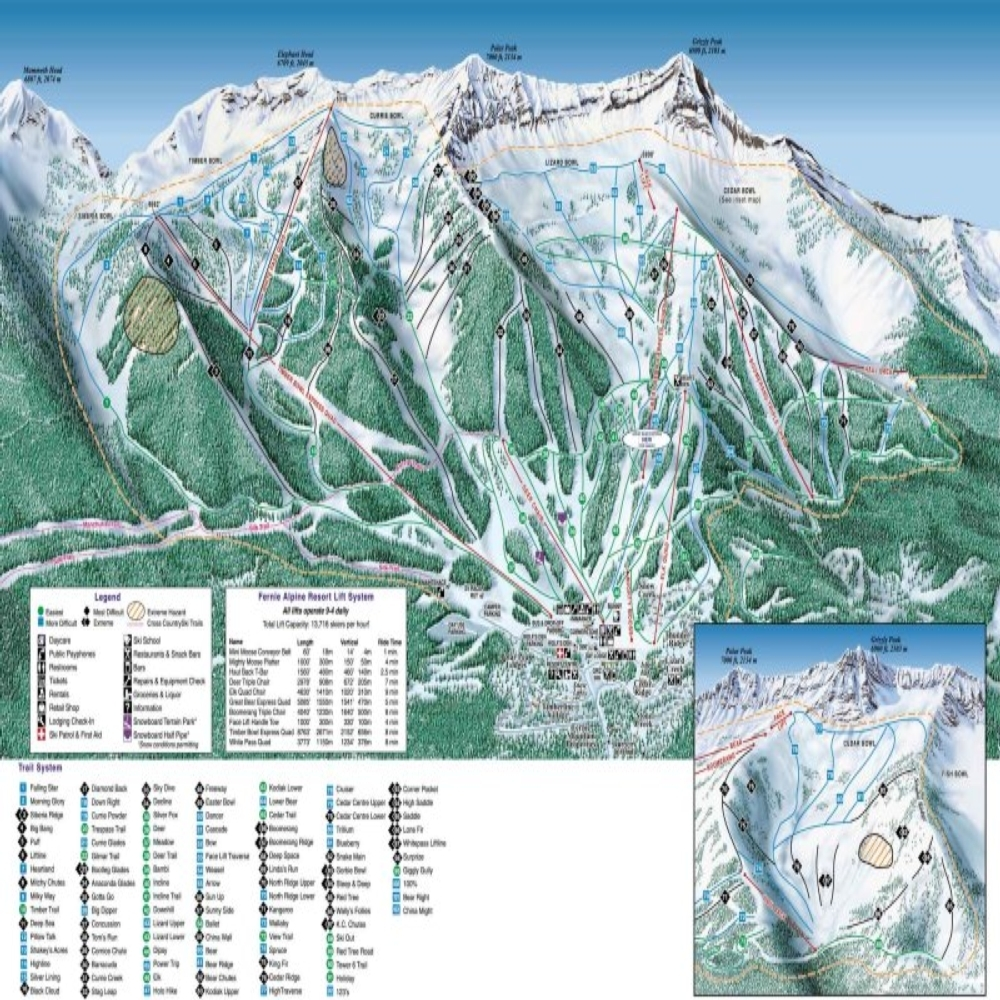 Fernie Alpine Resort Resort Guide