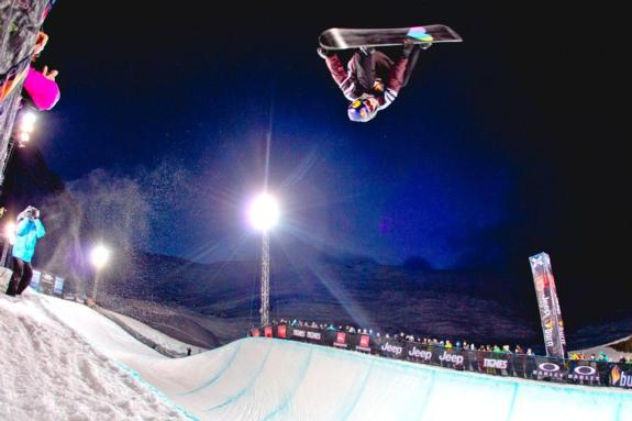 Iouri Podladtchikov in the 2011 X-Games Europe Halfpipe finals