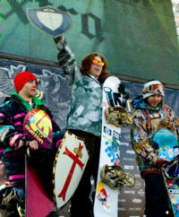 White & Buaas win the US Open Slopestyle