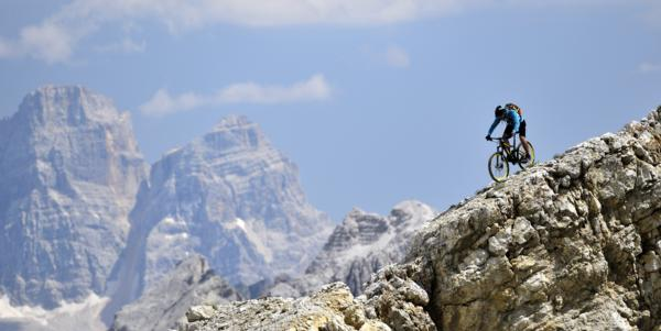 I want to ride my bicycle….in the Dolomites!