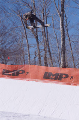Loon Mountain halfpipe