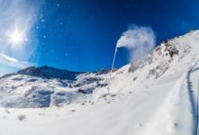 Snowmaking starts early at The Remarkables