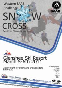 Scottish Snowcross Champs this weekend in Glenshee