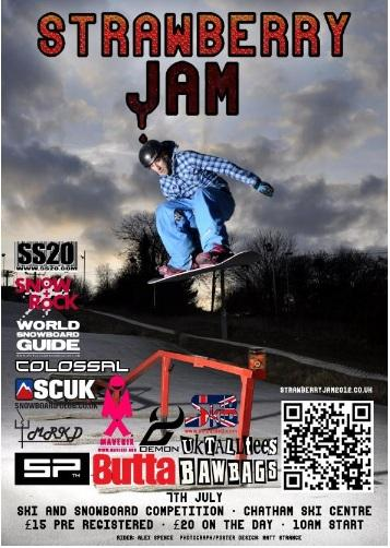 Strawberry Jam 2012 Flyer