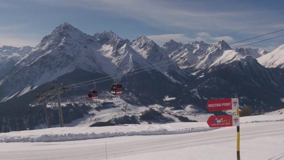 Scuol Piste March 2012