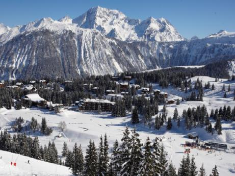 Ski Resort Courchevel in France