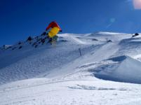 Ski Resort Mt Hutt in New Zealand