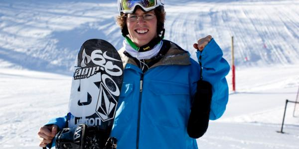 Kevin Pearce Gets Back on his Snowboard
