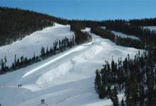Ski Resort Winter Park in USA
