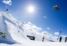 SANDBECH AND ANDERSON WIN SLOPESTYLE AT HIGH FIVES