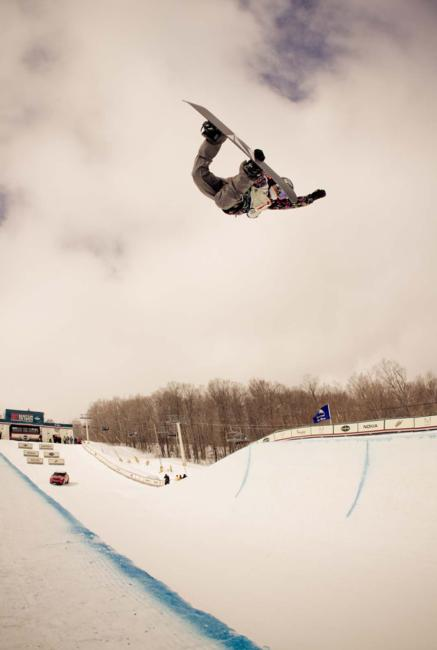 2012 US Open womens halfpipe winner Elena Hight