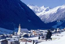 Ski Resort Neustift in Austria