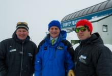Curvey Basin Chairlift officially opened!