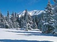 Ski Resort Berthoud Pass in USA