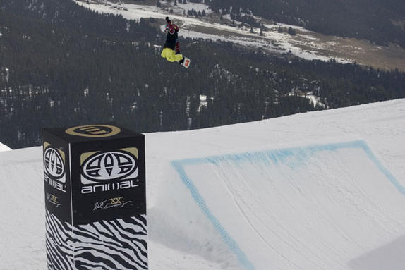 The Brits Animal Slopestyle 2010 rider: Katie Ormerod