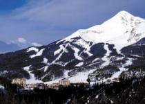 Ski Resort Big Sky in USA