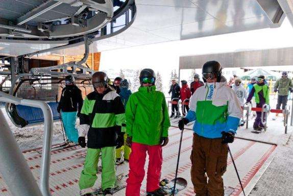 Opening day at Flumserberg, 27th November 2010