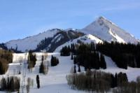 Ski Resort Crested Butte in USA