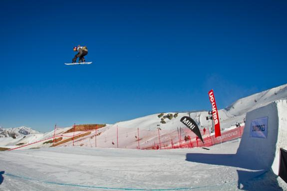 Burton NZ 2011 open slopestyle winner Mark McMorris