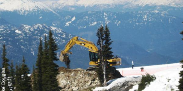 Work on new Gondola started at Whistler