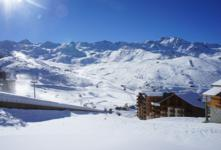 Ski Resort Val Thorens in France