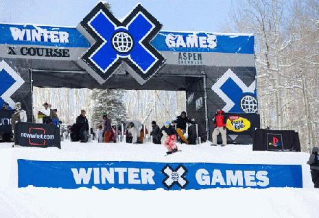 Zoe Gillings in the x-games