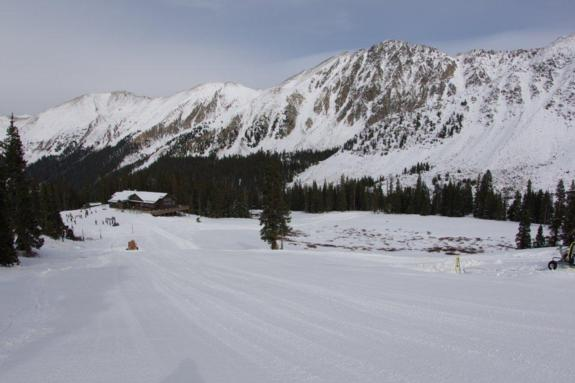 Arapahoe Basin 1st November 2011