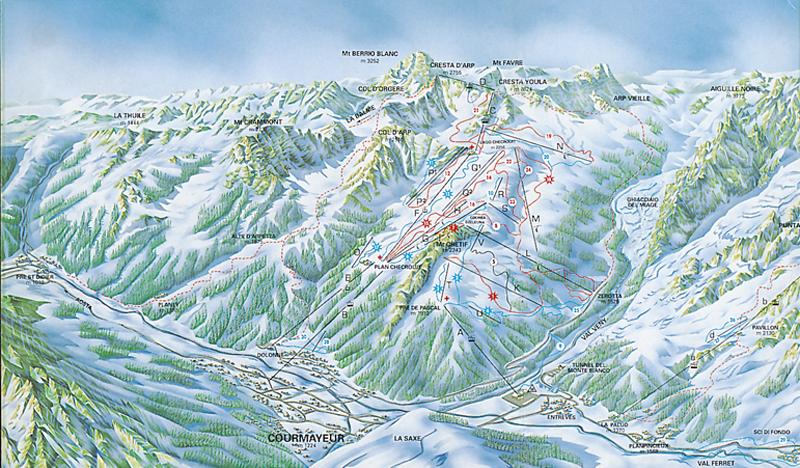 Courmayeur riding guide World Snowboard Guide