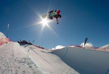 Halfpipe qualifiers at the Junior World Champs