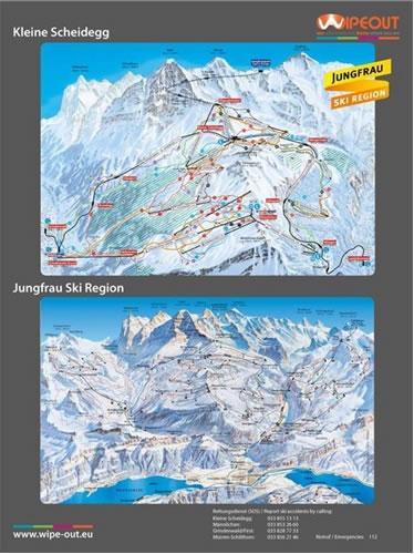 Jungfrau 2010/11 Wipeout Map
