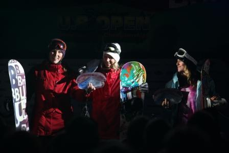 Womens podium at the US Open 2011 Jam