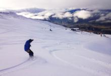 Wintery blast dumps snow on Queenstown ski areas