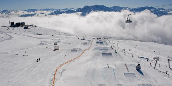 EUROPEAN OPEN CONTINUES WITH MEN'S SLOPESTYLE