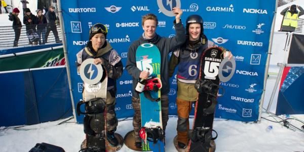Clark & Gold Win 2014 US Open Halfpipe finals