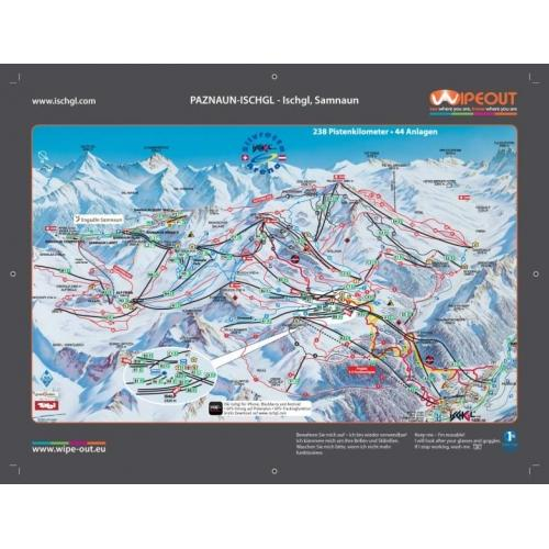 Ischgl 2011-12 Wipeout Piste Map
