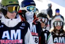 Brits rule the Burton AM series at mid-season
