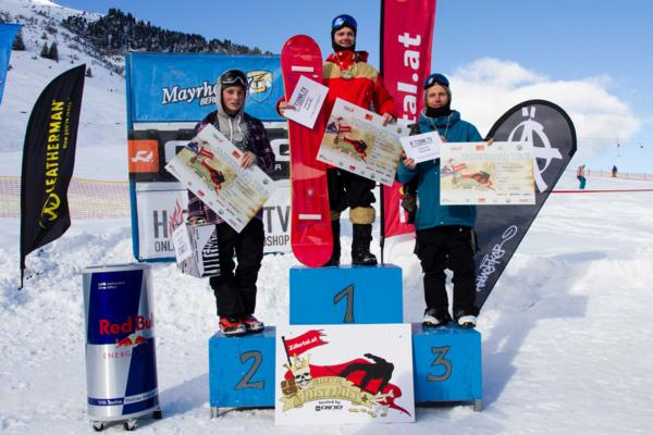 Valley Ralley Mens Podium