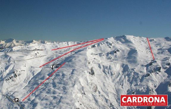 Cardrona new terrain for 2010