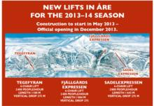 Three New Chairlifts in Are Sweden!