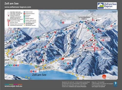 Zell/Kaprun 2010/11 Wipeout Map