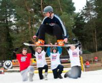 JAMIE BARROW FOR GB SPEED SNOWBOARDING RECORD!