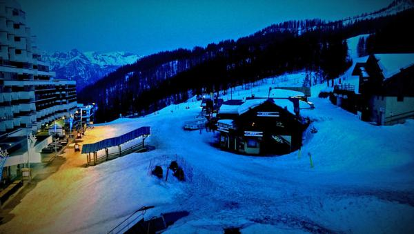 Dusk at the village at 1600m
