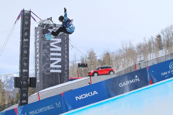 2014 US Open Womens Halfpipe Semis first place to Kelly Clark