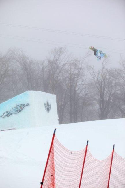 2011 US Open slopestyle winner Eric Willett