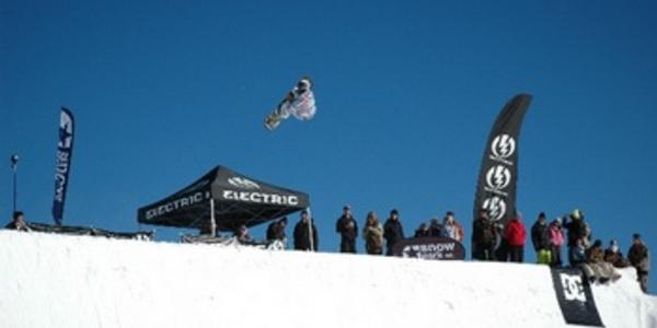 Electric Quarterpipe results from Snow Park, NZ