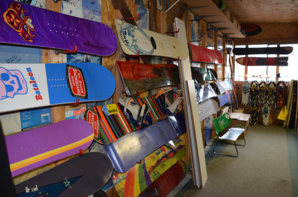 Mt.Baker Snowboard Shop