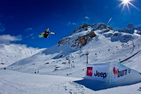 Enni Rukajarvi in the womens 2011 Europe Winter X Games Slopestyle Final