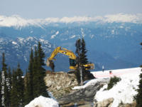 Whistler Peak-2-peak construction resumes