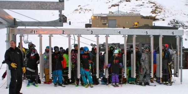 Mt Hutt celebrates opening day